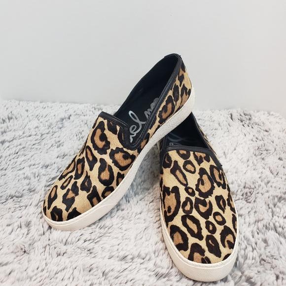 8601d6a632e248 Sam Edelman Becker Slip On Leopard Sneaker. M 5b162203409c15f6086b08f6